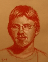 Ryan Houck's Music | pencil portrait by Ron Houck
