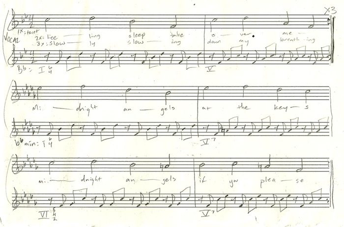 notation for Midnight Angels